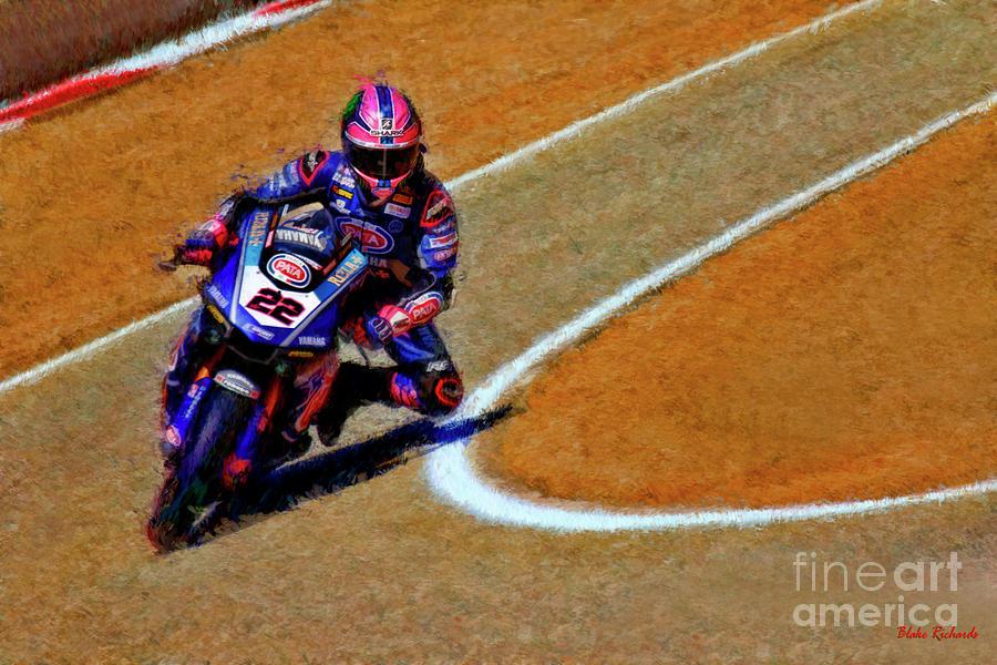 World Superbike Alex Lowes 2019 Yamaha YZF R1 by Blake Richards