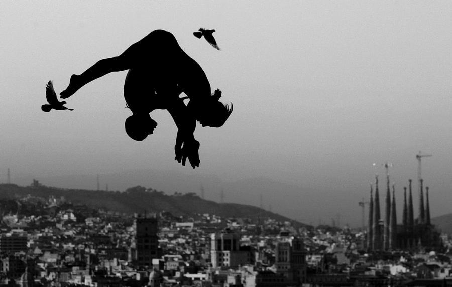World Swimming Championships Barcelona Photograph by Adam Pretty