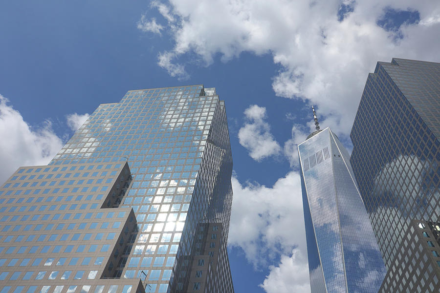 World Trade and Freedom Tower by Cate Franklyn