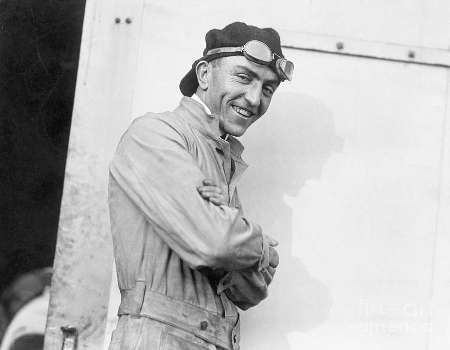 World War Flying Ace Eddie Rickenbacker Photograph by Bettmann