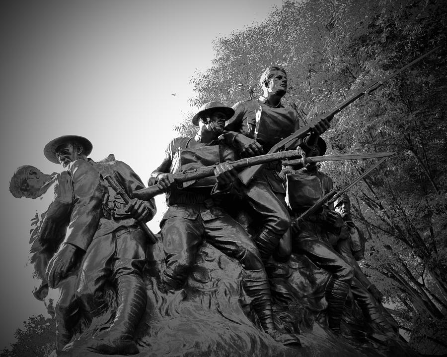 World War I Monument by JACK RIORDAN