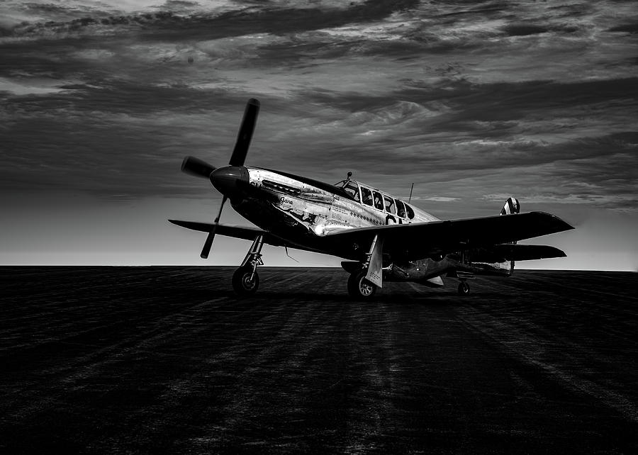 World War Two North American TP-51c Mustang No 2 by Bob Orsillo