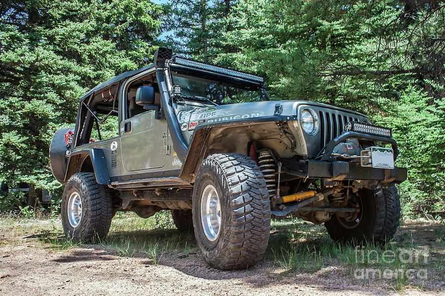 21a3d3ac4dc Jeeps Photograph - Wrangler Lj by Tony Baca