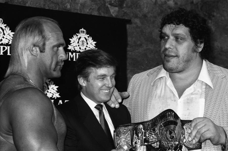 Wrestlemania At The Trump Plaza Photograph by Fred W. McDarrah