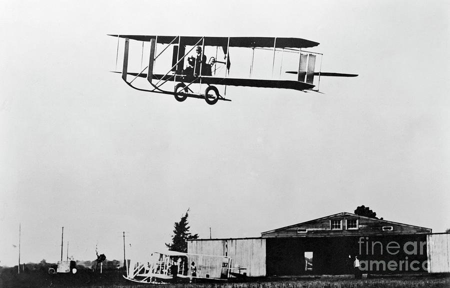 Wright Brothers Model E Plane Photograph by Bettmann