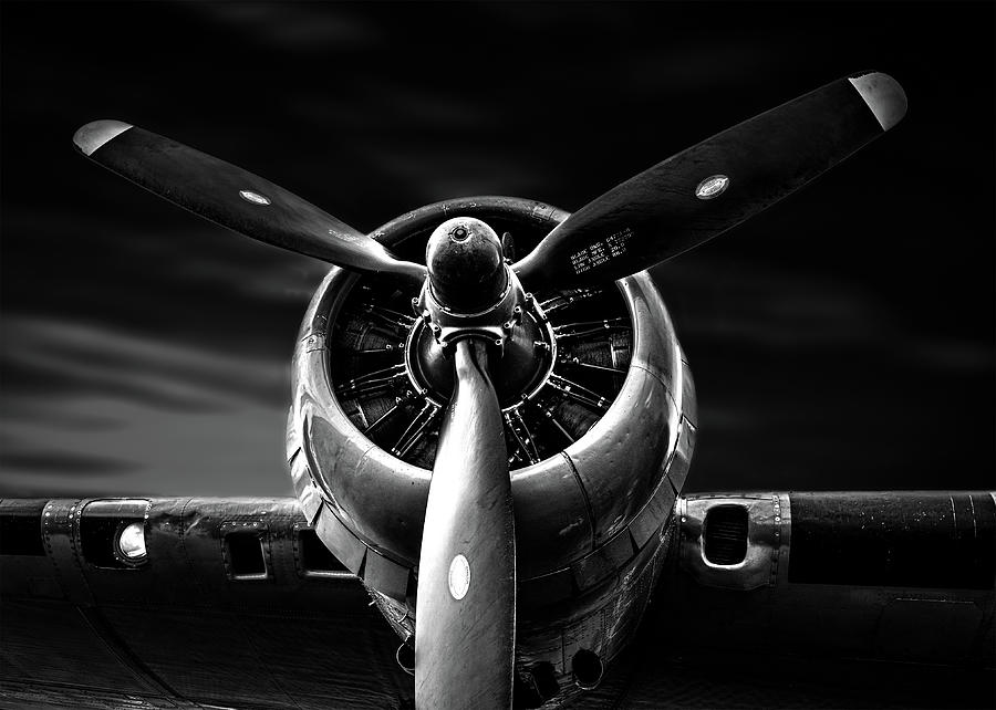 Wright Cyclone Boeing B-17 Flying Fortress No 2 by Bob Orsillo