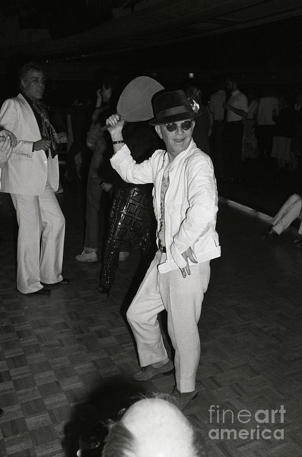 Writer Truman Capote Doing Fan Dance Photograph by Bettmann