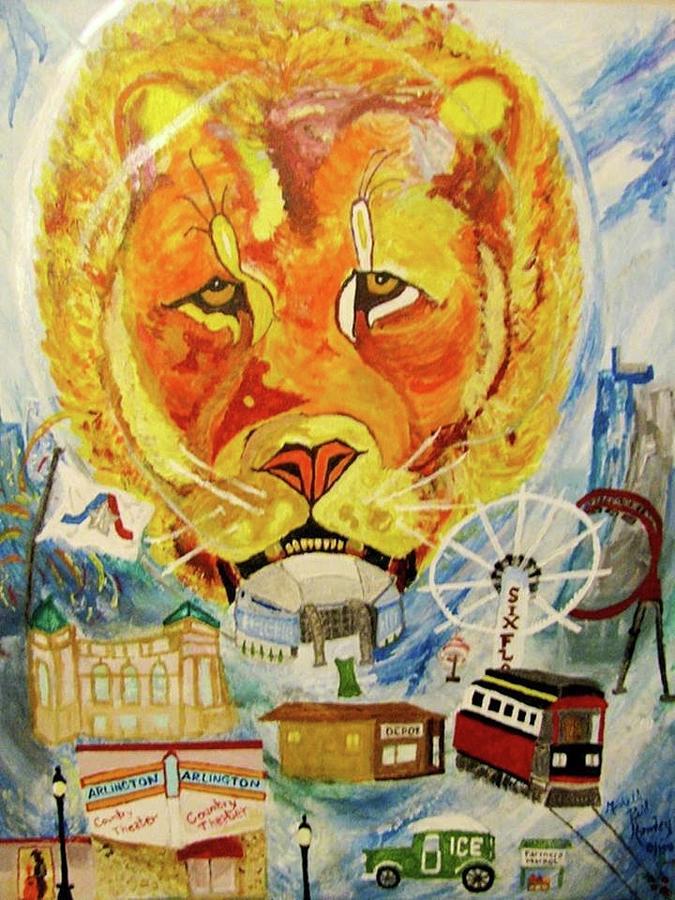Art Work Painting - Written in a bottle  by Michelle Reid