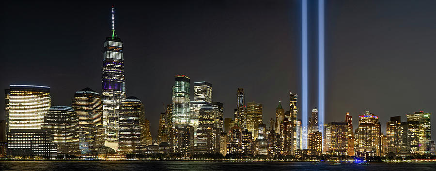 WTC 911 Tribute In Lights by Susan Candelario
