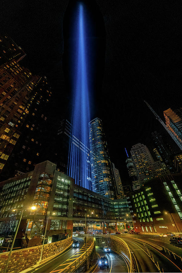 WTC Memorial Lights  by Chris Lord