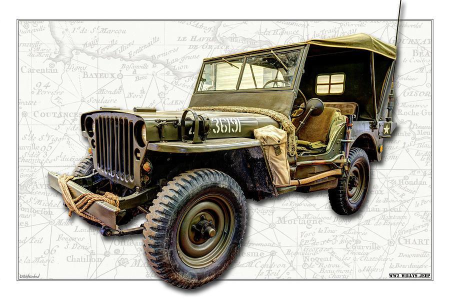WW2 Jeep by Weston Westmoreland