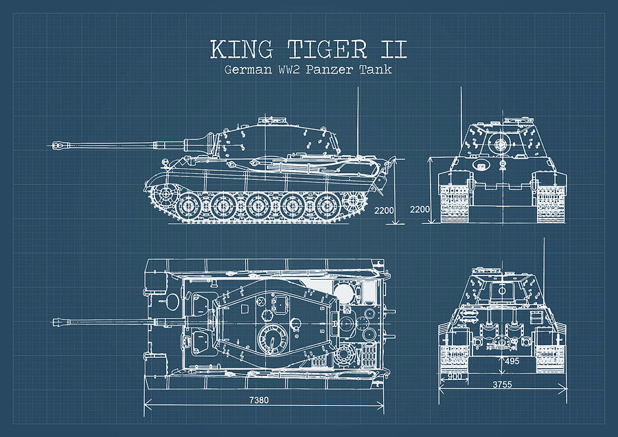 Ww2 Tank Blueprint