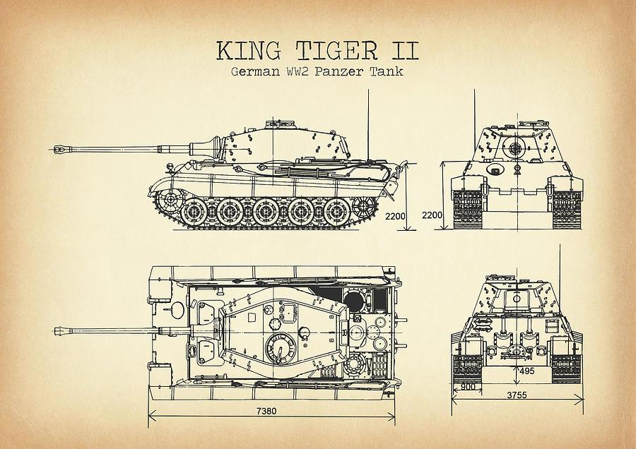 Ww2 Tank Vintage