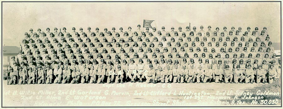WWII 89th Infantry Member Photo by Marilyn Smith