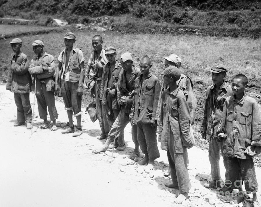 WWII CHINESE SOLDIERS, 1945 by Granger