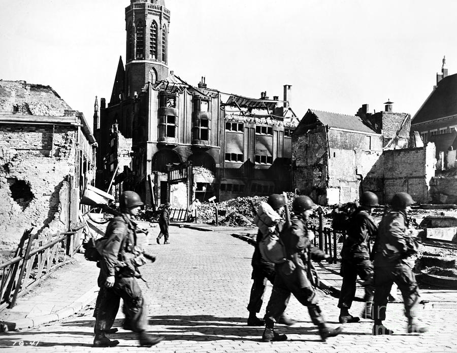 WWII Holland, 1944 by Granger