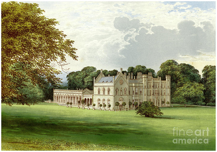 Wycombe Abbey, Buckinghamshire, Home Drawing by Print Collector