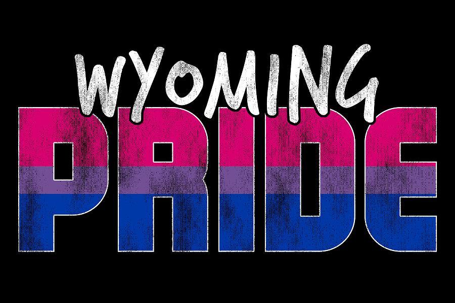 Wyoming Pride Bisexual Flag Digital Art By Patrick Hiller