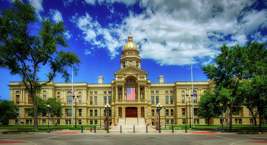 Wyoming State Capitol Photograph by Mountain Dreams