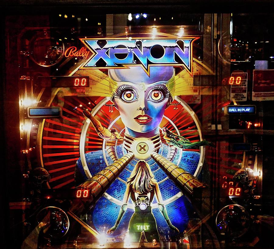 1980 XENON Pinnball Machine by Joan Reese