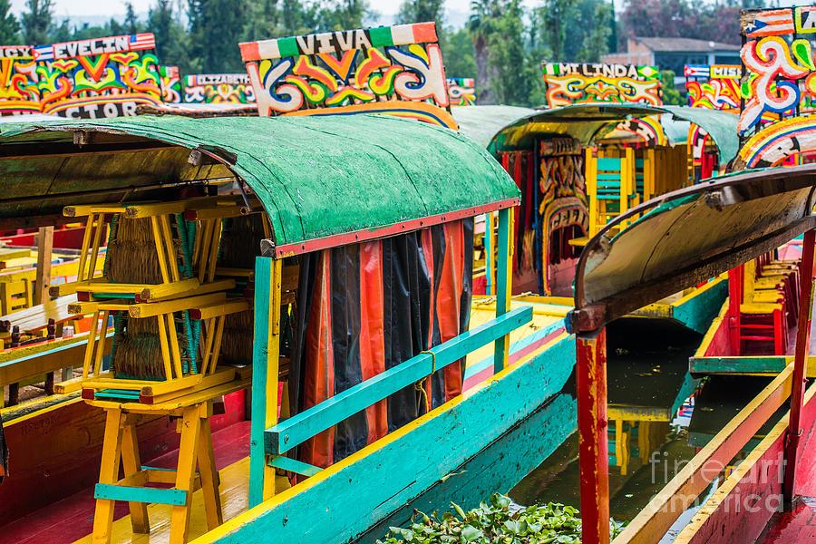 City Photograph - Xochimilco, Mexico City by Paco Forriol