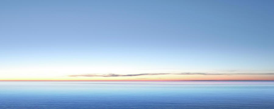 Xxl Serene Twilight Lake Photograph by Sharply done