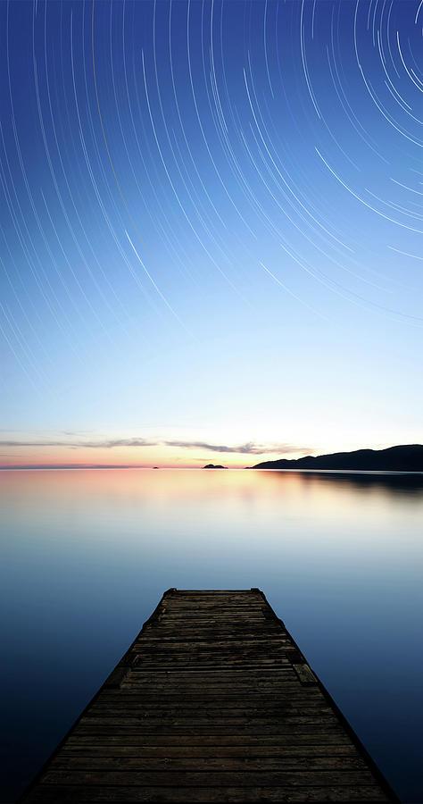 Xxxl Serene Starry Lake Photograph by Sharply done