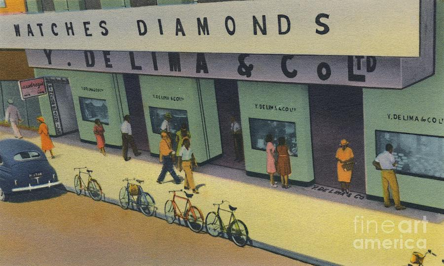 Y De Lima & Co Ltd Drawing by Print Collector