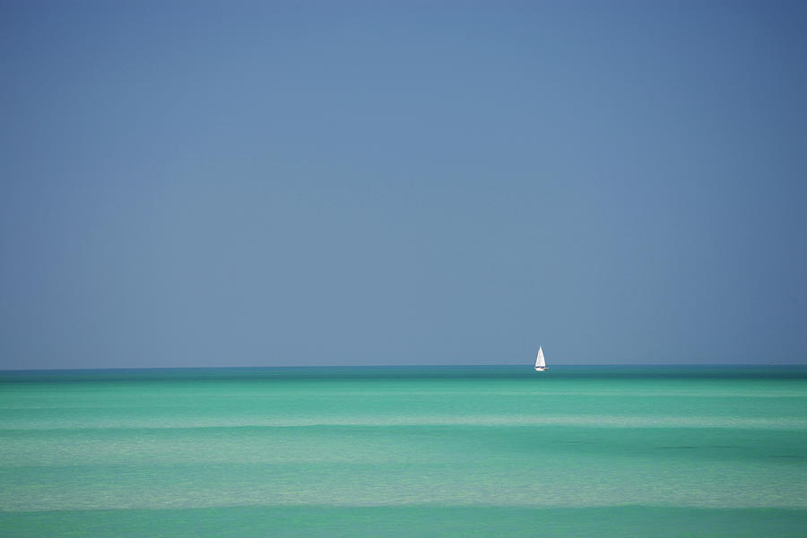 Yacht In Gulf Of Mexico, Florida, Usa Photograph by Tim Graham