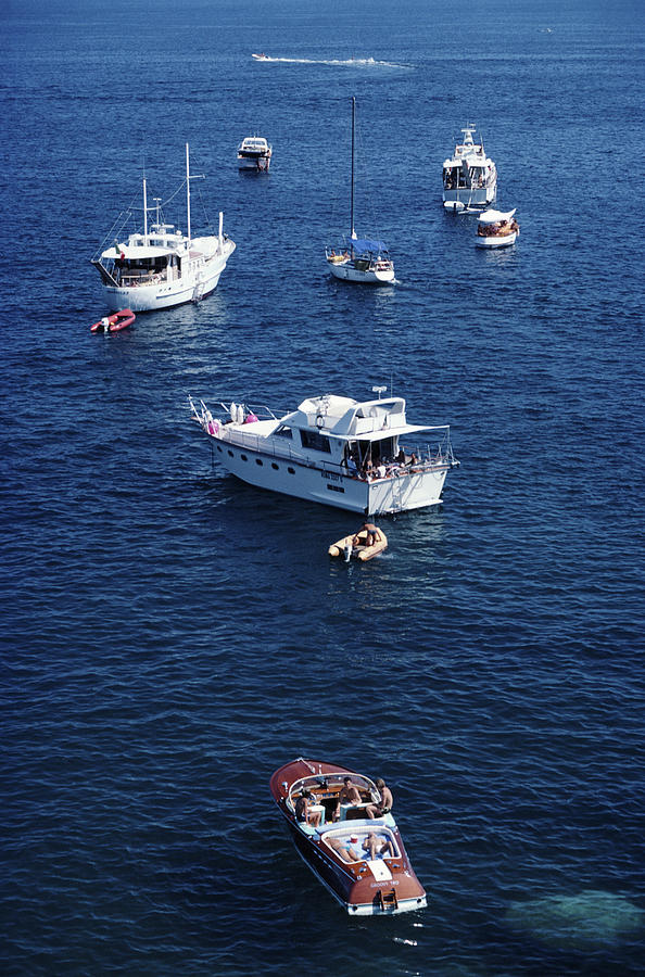 Yachting Holiday Photograph by Slim Aarons