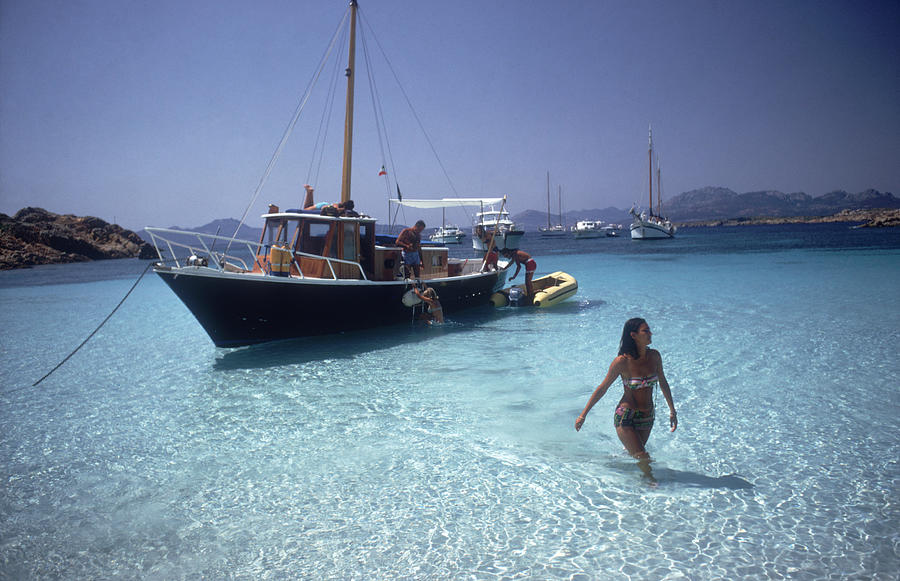 Yachting Trip Photograph by Slim Aarons