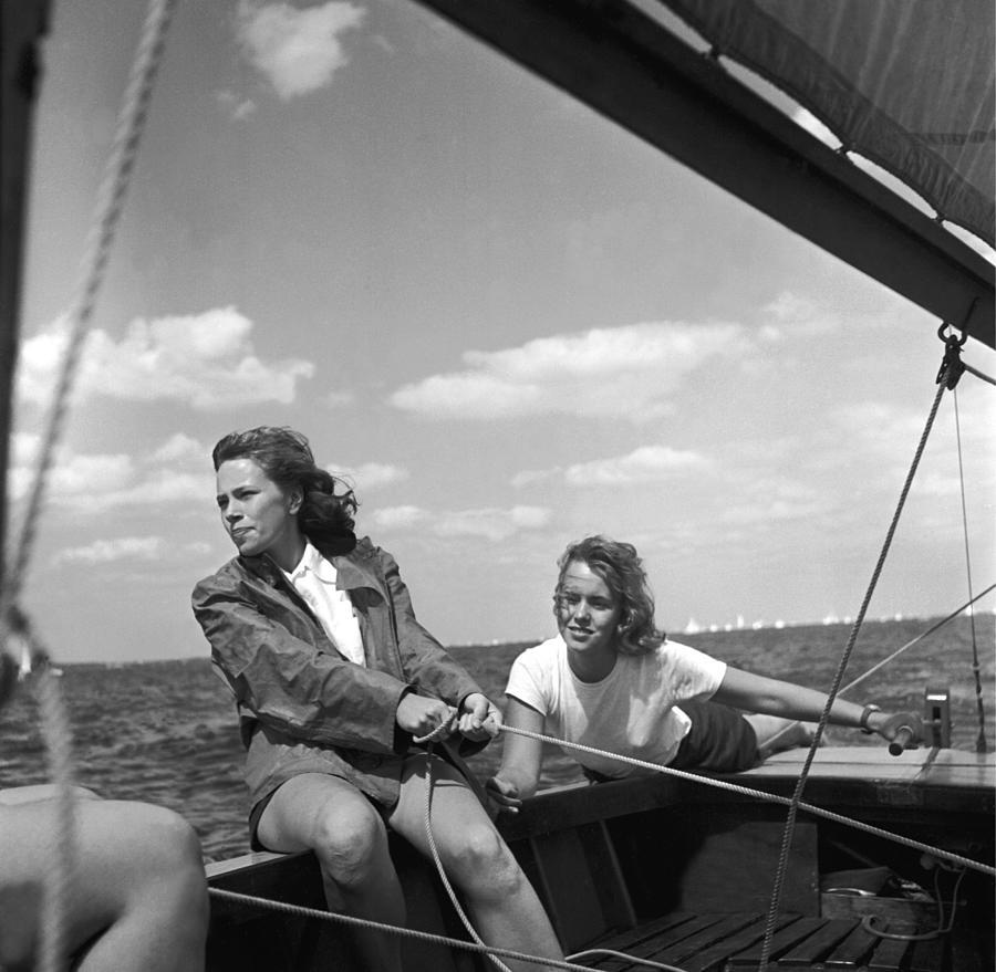 Yachtswomen Photograph by Orlando