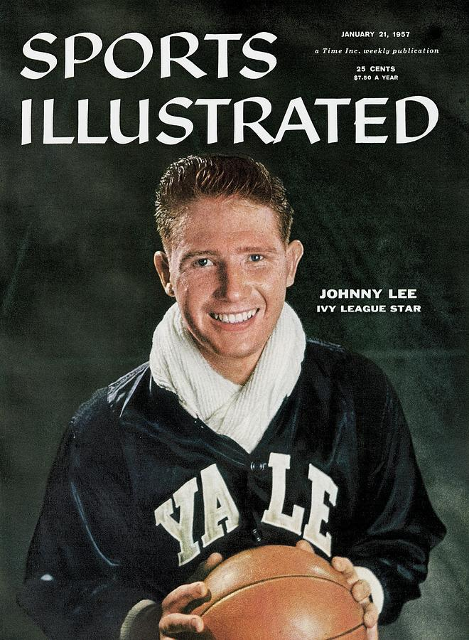 Yale Johnny Lee Sports Illustrated Cover Photograph by Sports Illustrated
