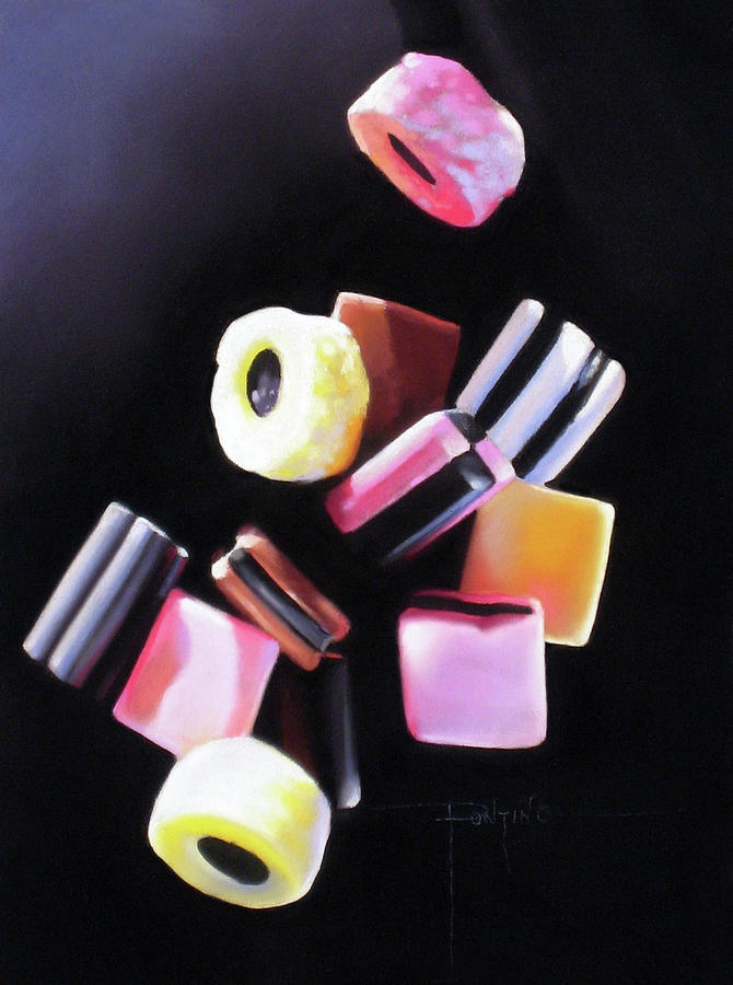 Licorice Allsorts Pastel - Yall Fall Down by Dianna Ponting