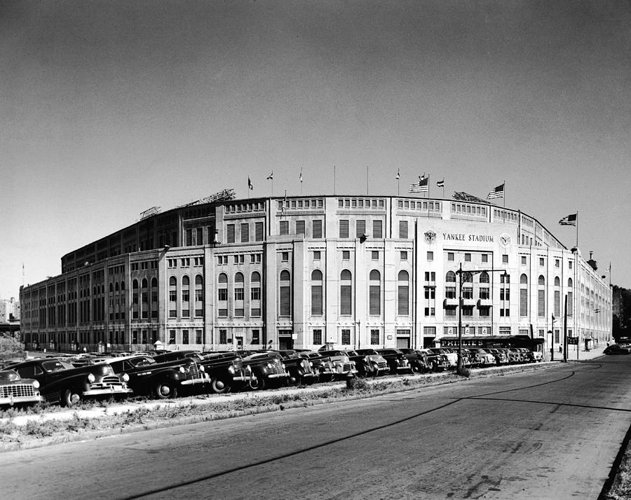 Yankee Stadium Photograph by Frederic Lewis