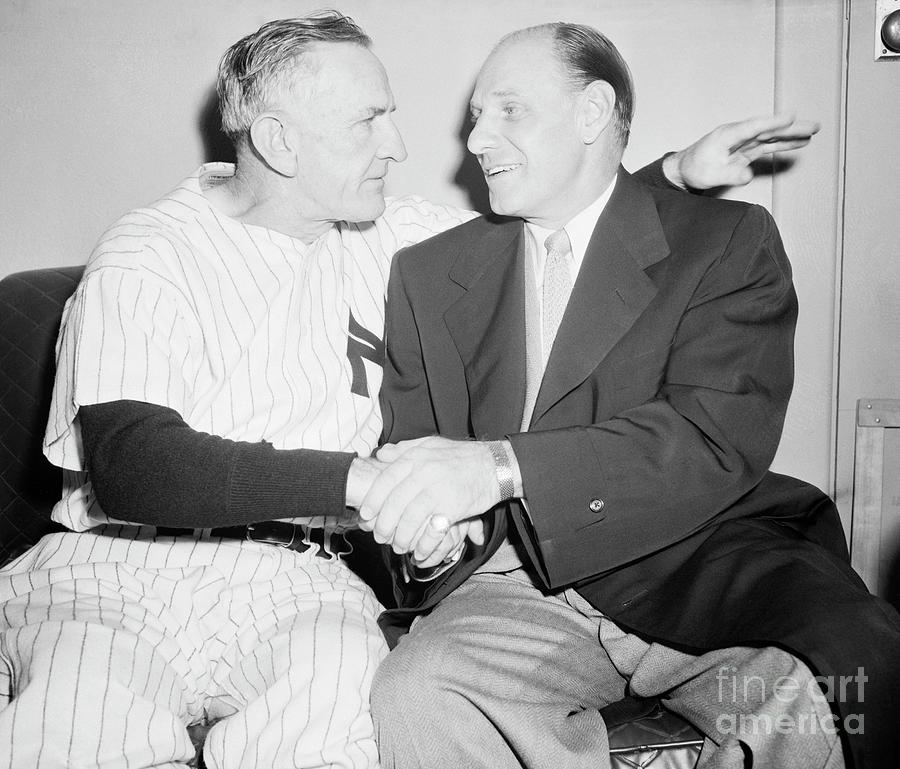 Yankees Manager Casey Stengel Photograph by Bettmann