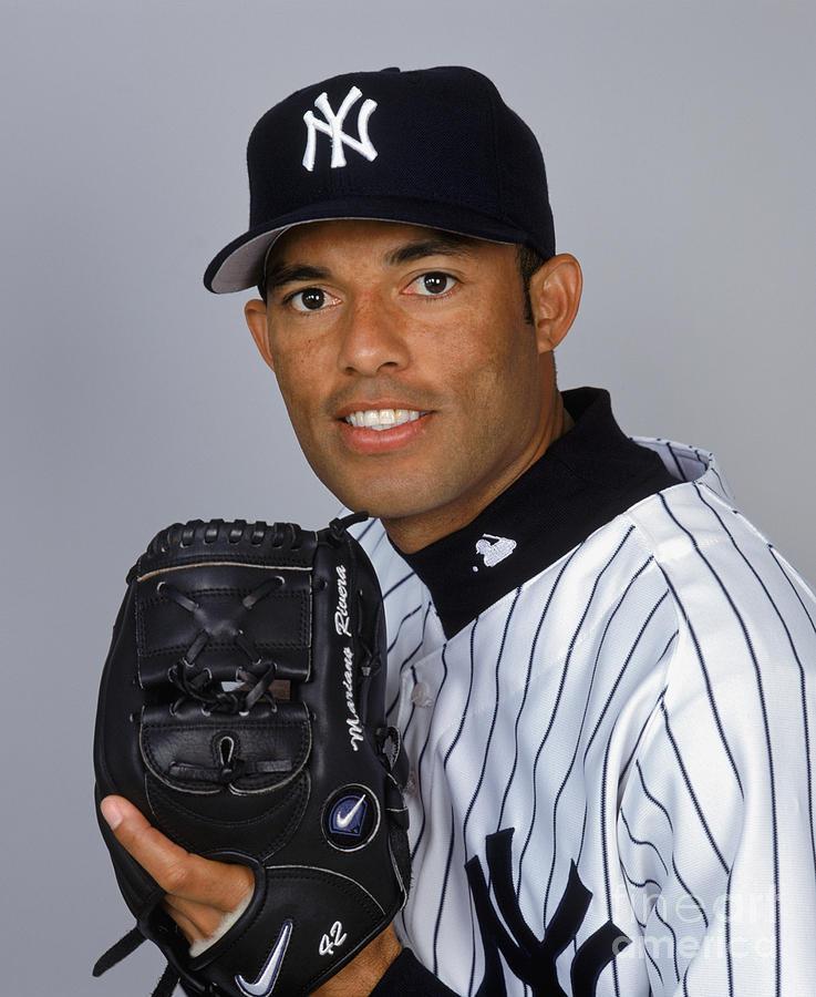 Yankees Media Day Rivera Photograph by Ezra Shaw
