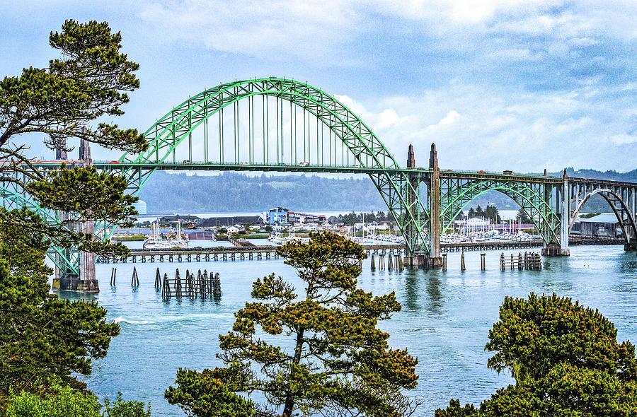 Yaquina Bay Bridge by Carolyn Derstine