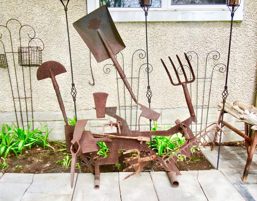 Yard Art by Stephanie Moore