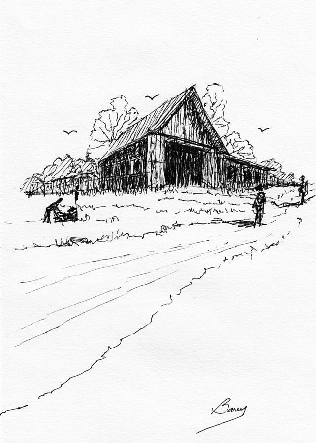 Yard-Work on the Farm by Barry Jones