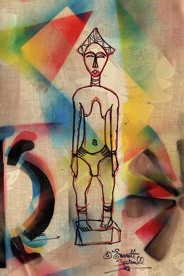 Yaure Woman by Everett Spruill