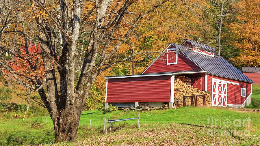 Ye Old Maple Sugar Shack by Edward Fielding