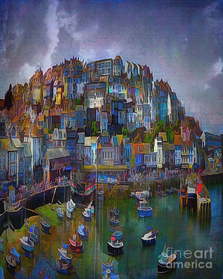 Ye Olde Brixham by Edmund Nagele