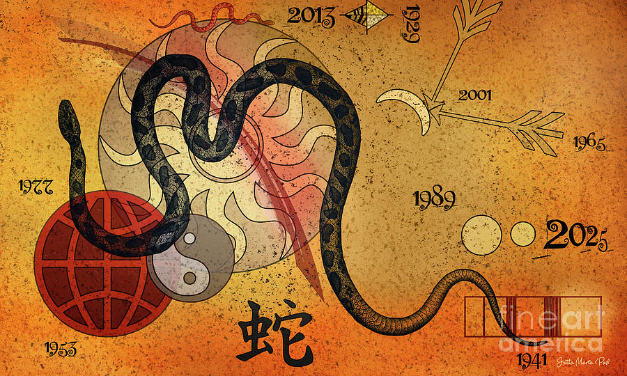 Year of the Snake by Jutta Maria Pusl