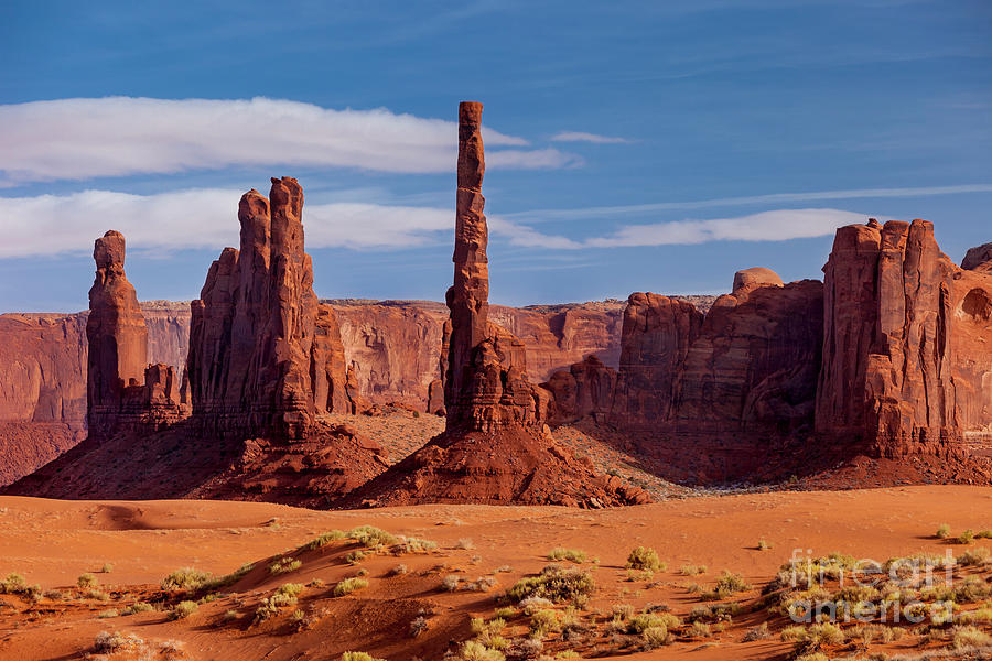 Yei Bei Chi Totem Poles - Monument Valley by Brian Jannsen