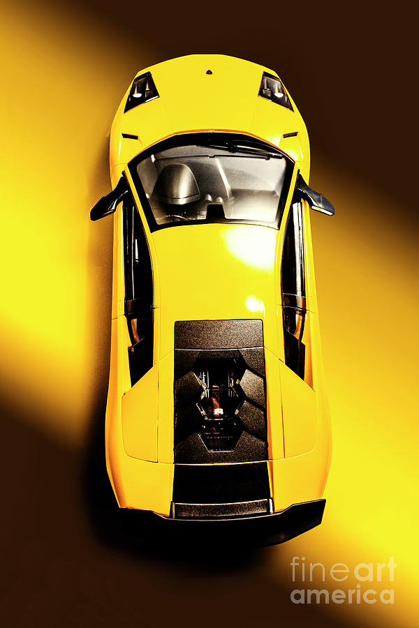 Automotive Photograph - Yellow And Black by Jorgo Photography - Wall Art Gallery