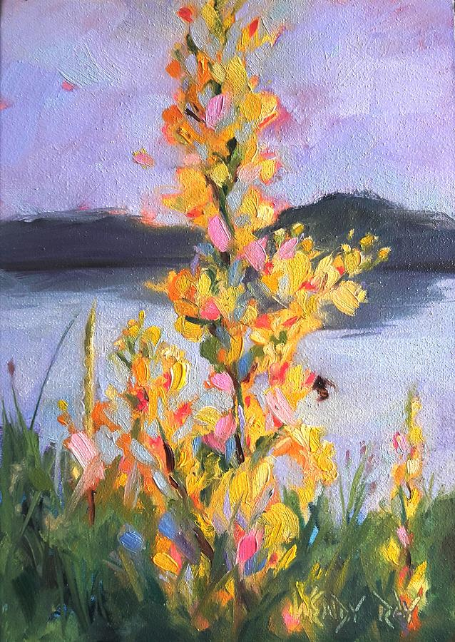 Yellow Blaze by Wendy Ray