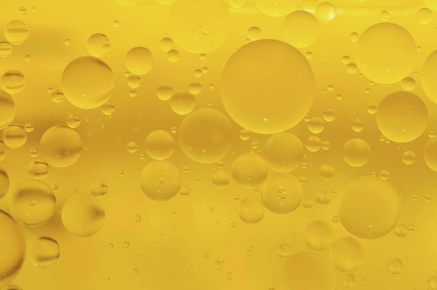 Yellow Bubbles Photograph by Mac99