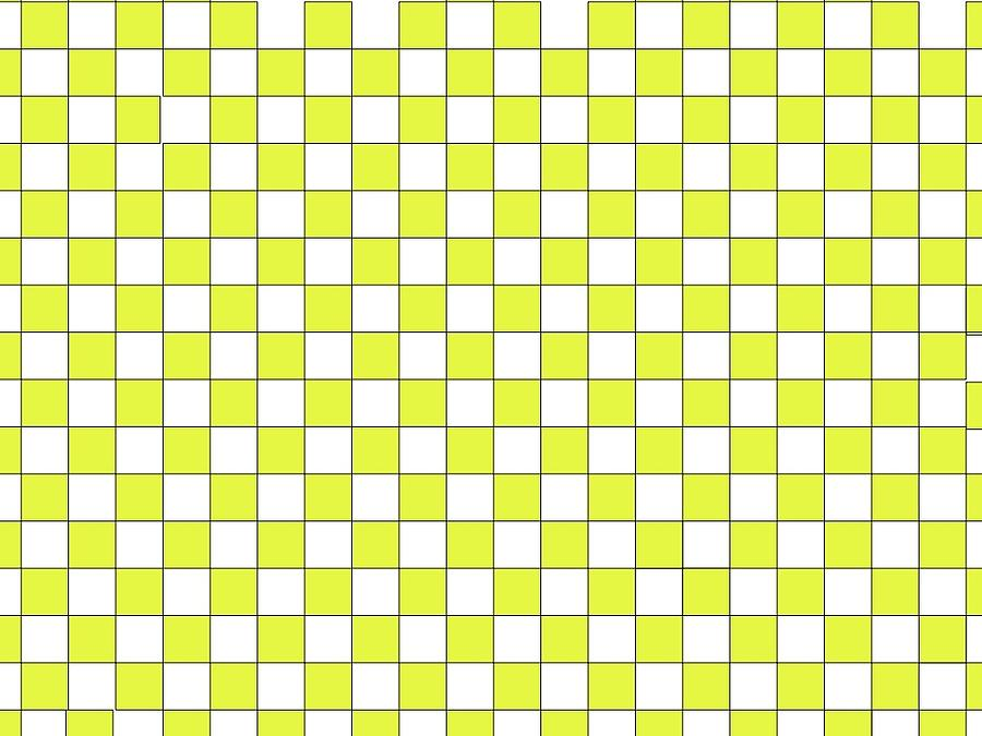 Yellow Checkers by Andrew Williams