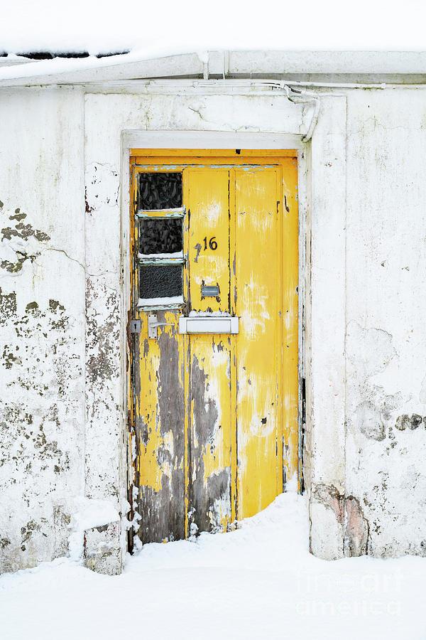 Yellow Door by Tim Gainey